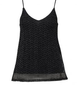 ONLY ONLKAILEE  Top black/silver