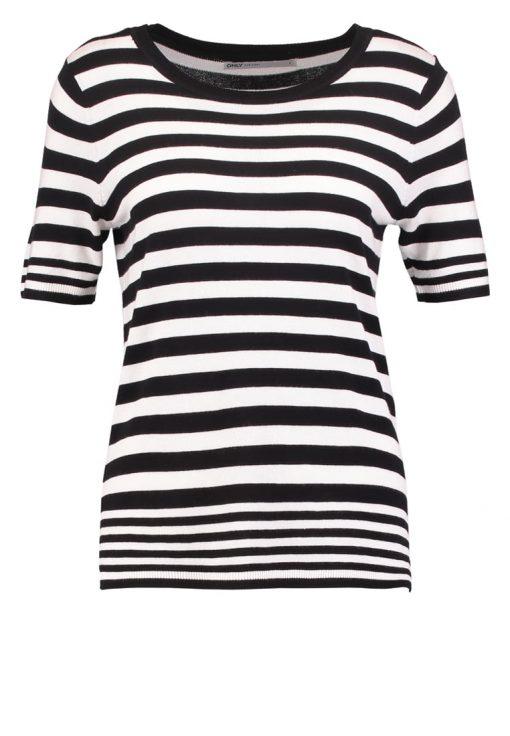 ONLY ONLMILA Camiseta print cloud dancer/black