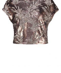 Phase Eight PATIENTA Camiseta print bronze