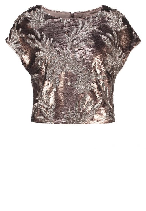 Phase Eight PATIENTA Camiseta print bronze