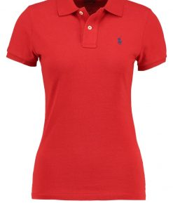 Polo Ralph Lauren SKINNY FIT Polo red