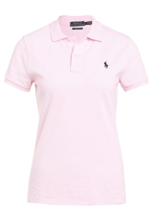 Polo Ralph Lauren SKINNY FIT Polo county club pink