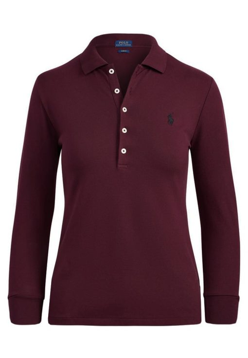 Polo Ralph Lauren SLIM FIT Polo autumn wine