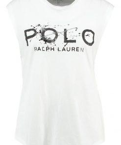 Polo Ralph Lauren GRAP  Camiseta print white