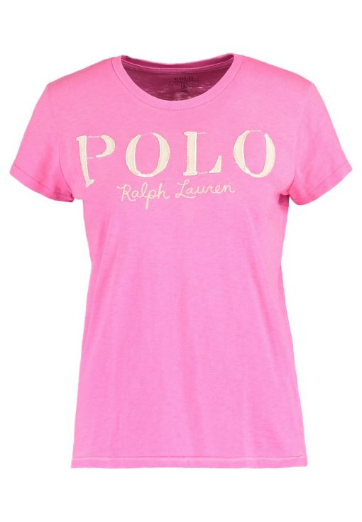 Polo Ralph Lauren Camiseta print bright rose