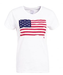 Polo Ralph Lauren FLAG Camiseta print nevis