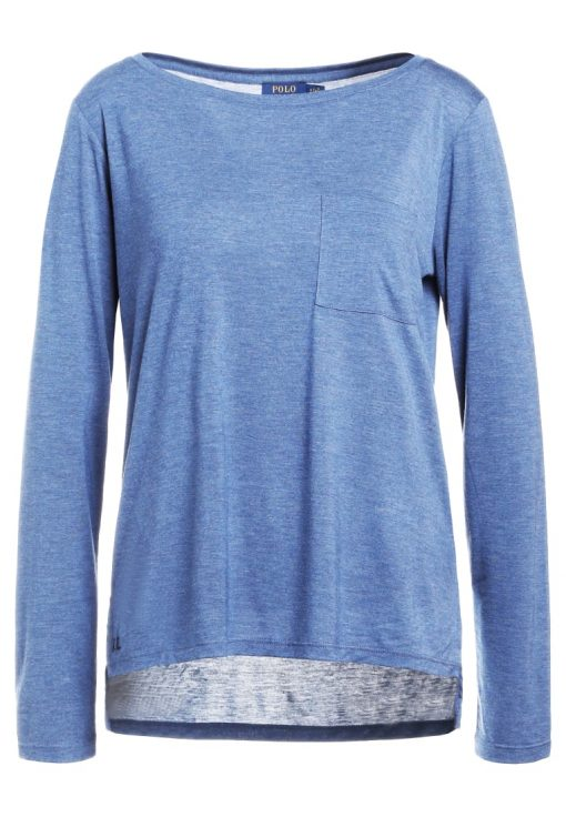 Polo Ralph Lauren Camiseta manga larga shale blue heather