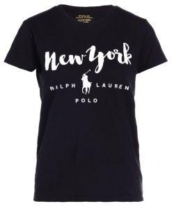 Polo Ralph Lauren Camiseta print polo black new yo