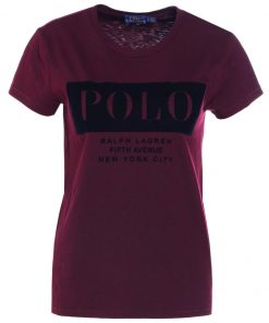 Polo Ralph Lauren Camiseta print autumn wine