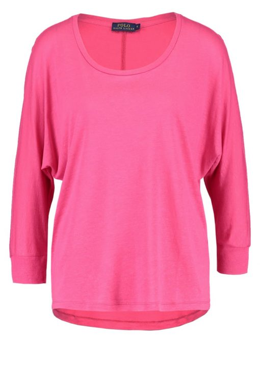 Polo Ralph Lauren Camiseta manga larga hot pink