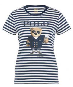 Polo Ralph Lauren Camiseta print navy/cream