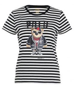 Polo Ralph Lauren Camiseta print black/cream