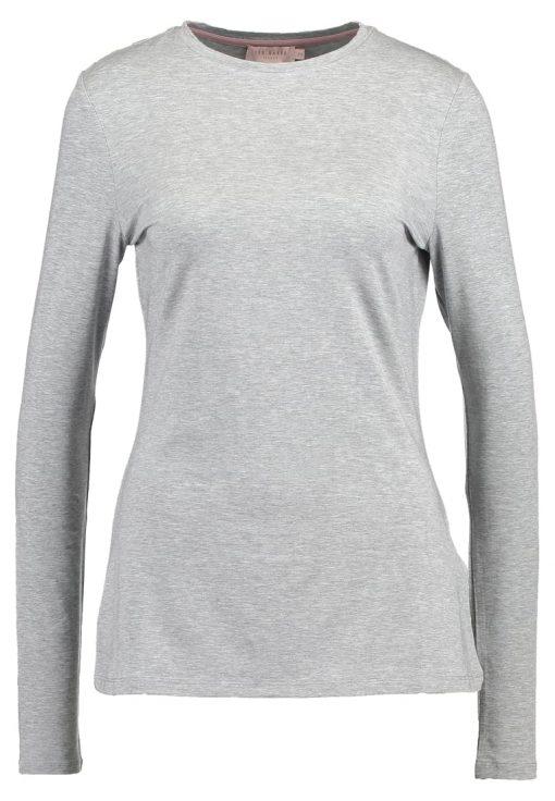 Ted Baker LONGSLEEVE Camiseta manga larga light grey