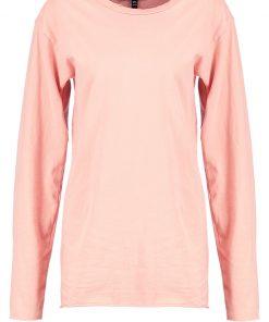 Topshop Camiseta manga larga peach