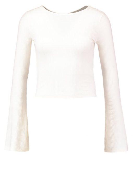 Topshop Camiseta manga larga cream