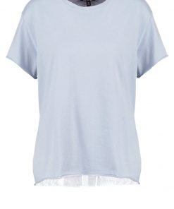 Topshop Camiseta print cornflower