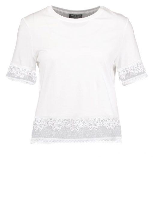 Topshop DOBBY    Camiseta print white