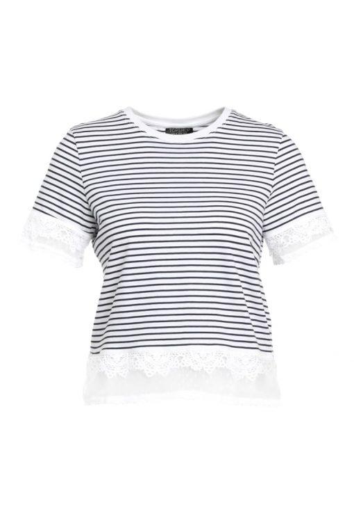 Topshop DOBBY    Camiseta print monochrome
