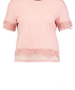 Topshop DOBBY    Camiseta print pink