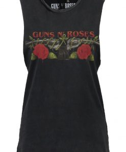 Topshop GUNS&ROSES Top black