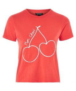 Topshop B&B Camiseta print red