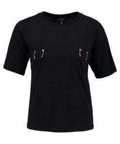 Topshop PIERCED  Camiseta print black