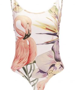 Topshop FLAMINGO PRINT  Top multi