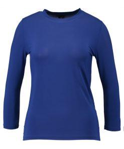 Topshop SLINKY SLEEVE   Camiseta manga larga cobalt