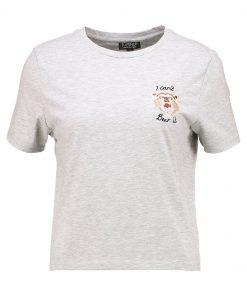 Topshop I CANT BEAR IT Camiseta print greymarl