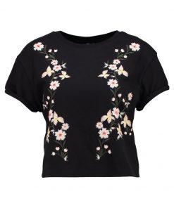 Topshop COLOURED  Camiseta print black