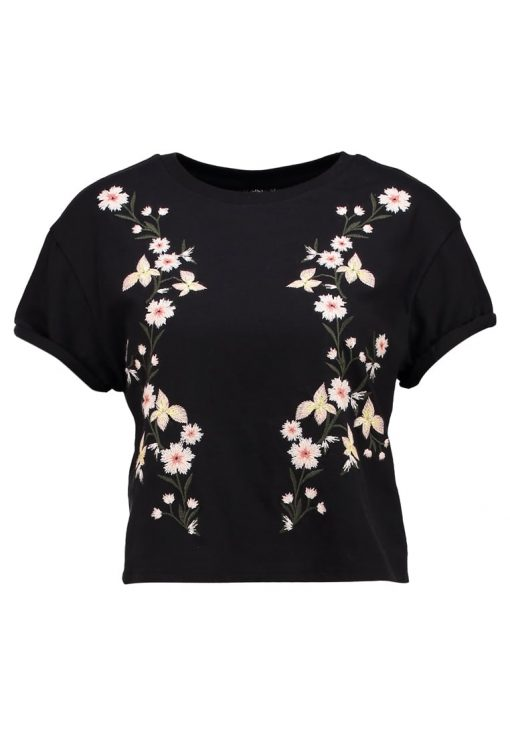 Topshop COLOURED  Camiseta print black