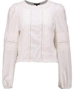 Topshop TRIM  Camiseta manga larga cream