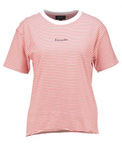 Topshop ROMANTIC Camiseta print red