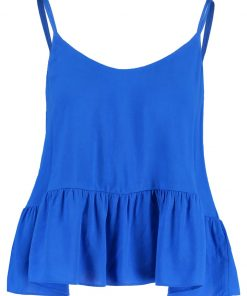 Topshop CASUAL Top blue