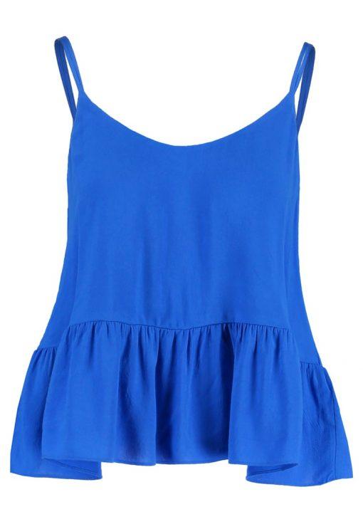 Topshop CASUAL Top blue