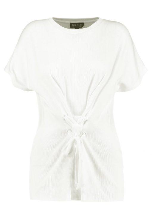 Topshop TIE Camiseta print cream