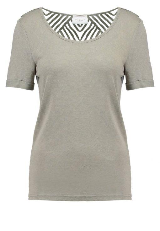 Vila VISUMI  Camiseta print vetiver