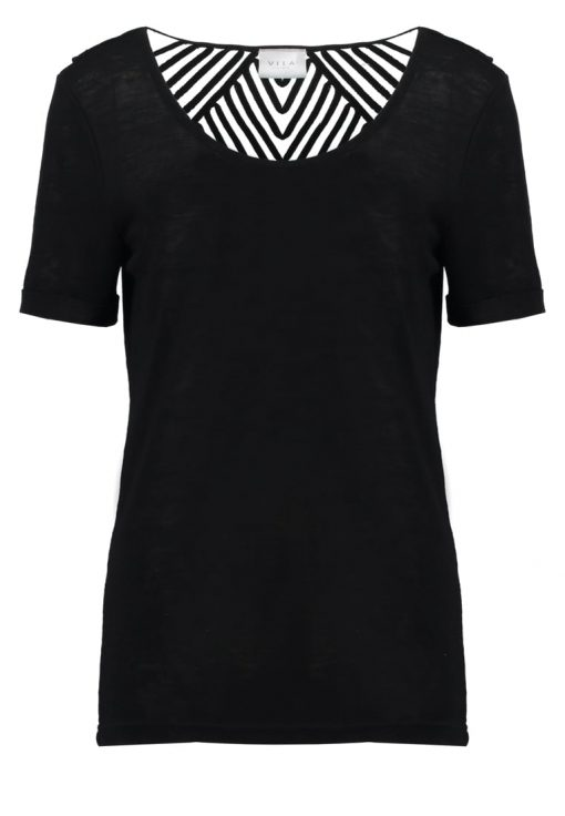 Vila VISUMI  Camiseta print black
