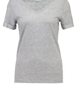 Vila VISUMI Camiseta básica light grey melange