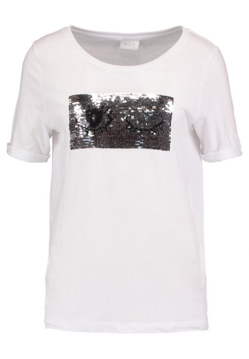 Vila VIFAMES  Camiseta print optical snow