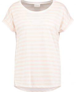 Vila VIDREAMERS PURE LUX Camiseta print peach whip/snow white