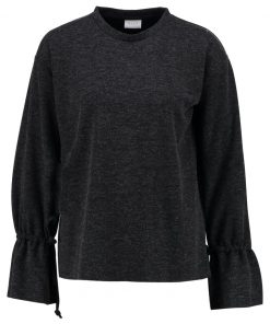 Vila VIAMMIE Camiseta manga larga dark grey melange