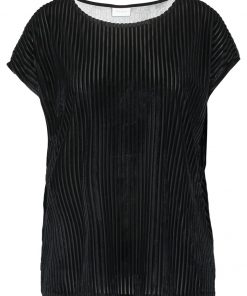 Vila VISAINTO Camiseta print black