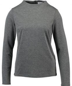 Vila VIFAUNAS HIGH NECK Camiseta manga larga grey