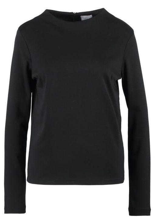 Vila VIFAUNAS HIGH NECK Camiseta manga larga black