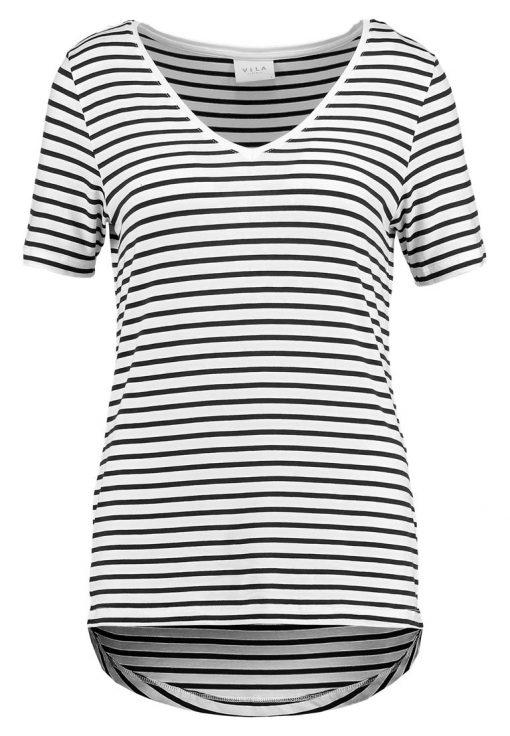 Vila VIFI  Camiseta print total eclipse snow white