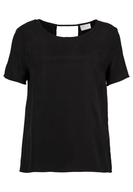 Vila VIRAF Camiseta básica black
