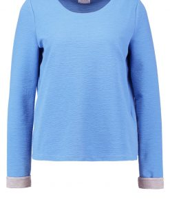 Vila VIMARTHE Camiseta manga larga silver/lake blue