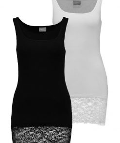 Vero Moda MAXI MPACK: 2 Top black/snow white