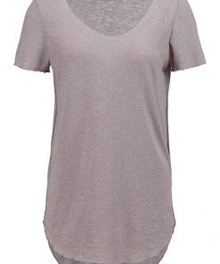 Vero Moda VMLUA  Camiseta básica light grey melange